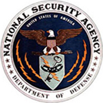 National Security Agency First Emblem  1963