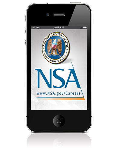 NSA New High-Tech Recruitment Tool - Image of a Smart Phone