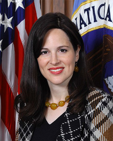 Picture of Ms. Anne Neuberger, new Chief Risk Officer