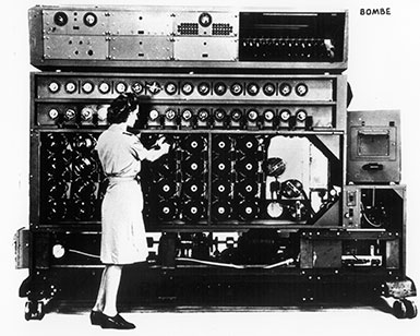 WAVE Demonstrating Bombe