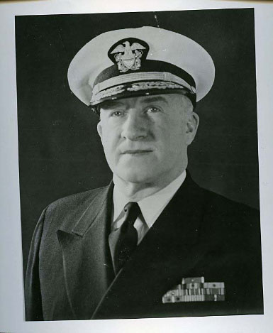 Rear Admiral Earl Stone, USN, first director of the Armed Forces Security Agency, NSA's direct predecessor