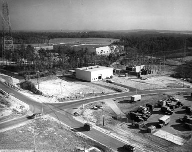National Security Agency complex at Fort Meade, Support Activities Building 2 in the background