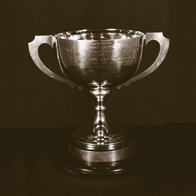 The Travis Trophy, first awarded in 1964 to the 6988th Security Squadron in Yokota, Japan