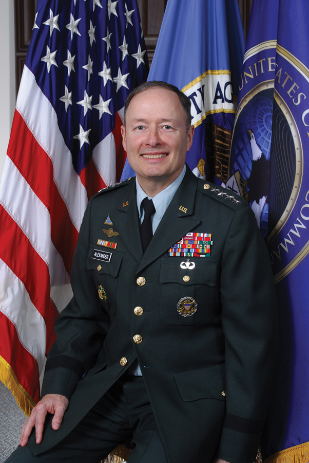 GEN Keith B. Alexander, USA, NSA Director August 2005 - Present