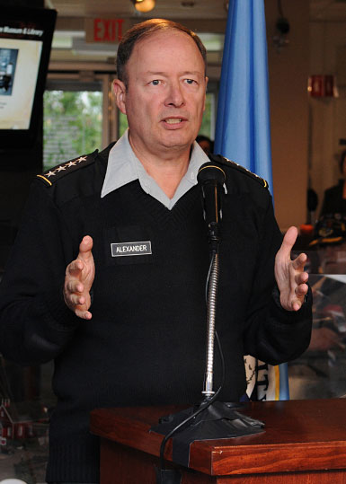 GEN Keith B. Alexander, USA, Commander US CYBERCOM, Director NSA/Chief CSS