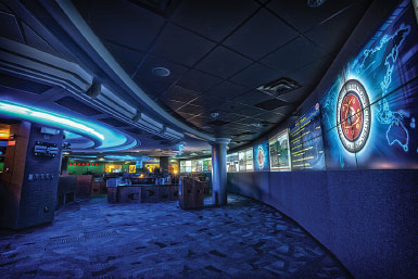 View of the National Security Operations Center Floor, 2012