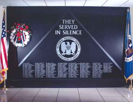 Cryptologic Memorial Wall
