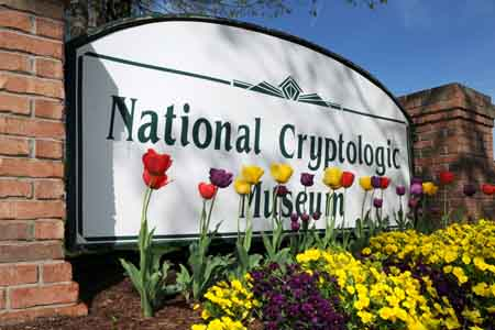 National Cryptologic Museum Sign