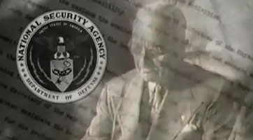 Screenshot of First NSA logo from Our History Video